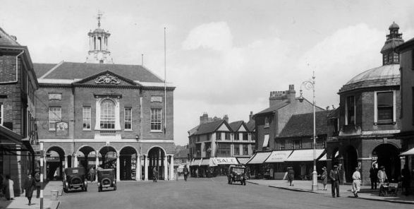 Wycombe High Street c1930